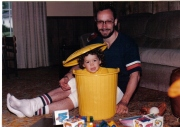 I guess I've always been dad's little grouch!