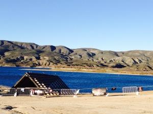view of vail lake