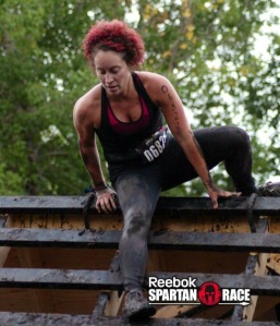 Slip Wall in Red Deer Spartan Race, 2013