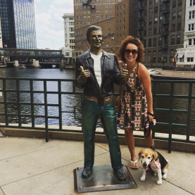 Henry Winkler is forever immortalized as the Bronze Fonz on Milwaukee's riverfront